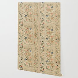 Uzbekistan Suzani Nim Embroidery Print Wallpaper