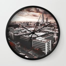 the shard in london Wall Clock