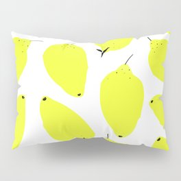 LEMONY WHITE Pillow Sham
