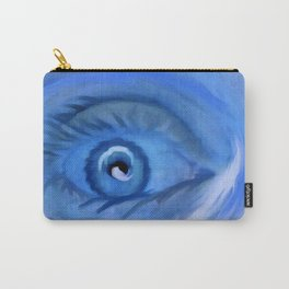 Blue Eye Surprise Carry-All Pouch
