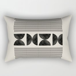 Tribal Boho Art Rectangular Pillow