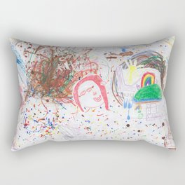 Children's art Rectangular Pillow