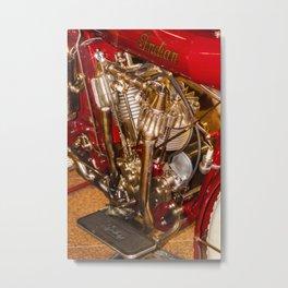 cycle engine Metal Print