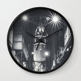 Istanbulian Night Wall Clock