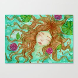 Sometimes it's Hard to Tell the Water From My Tears Canvas Print