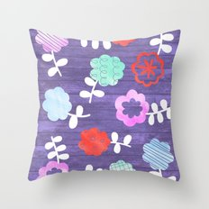 Daisy Dallop Throw Pillow