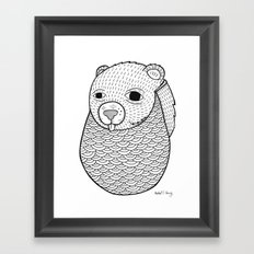 Mr. Rupel's Most Ingenuous Beard for Bears  Framed Art Print