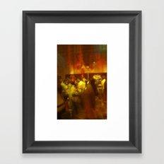dance party Framed Art Print