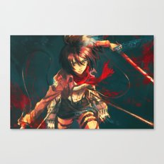 Worth a Hundred Soldiers Canvas Print