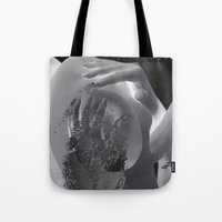 tits Tote Bags featuring Perfect Tits (DD) by Liaison Érotique