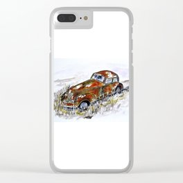 Regal Sleep Clear iPhone Case