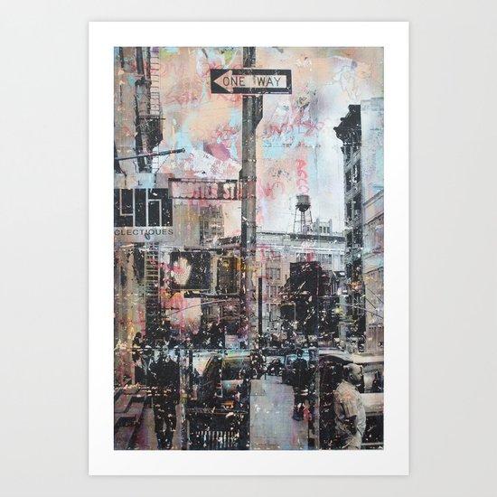 Wooster Street, NYC Art Print