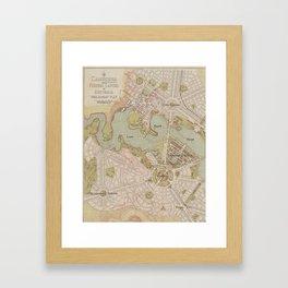 Lake Burley Griffin Framed Art Print
