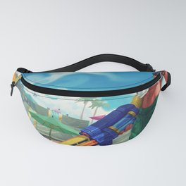 Pool Party Graves League of Legends Fanny Pack