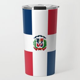 Flag of the dominican republic Travel Mug