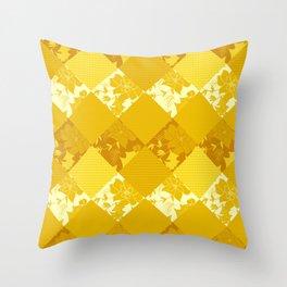 Patchwork, autumn 2 Throw Pillow
