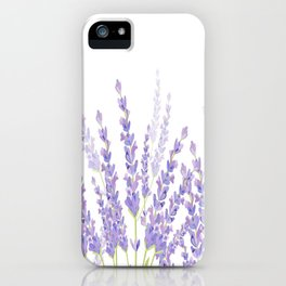 Lavender in the Field iPhone Case