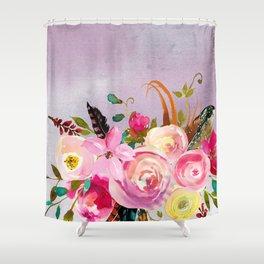 Flowers bouquet #40 Shower Curtain