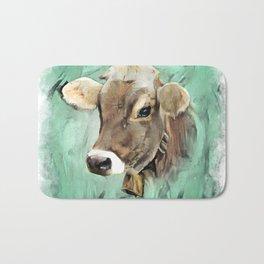 Pretty Cow Bath Mat