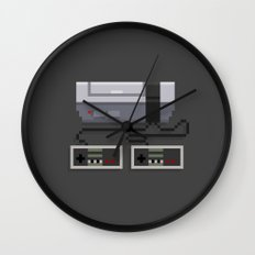 NES 8-Bit Console Wall Clock
