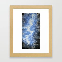 lightening bolt Framed Art Print