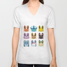 Eeveelutions Unisex V-Neck