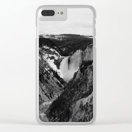 Spring Falls Clear iPhone Case