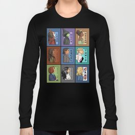 She Series Collage - Version 4 Long Sleeve T-shirt