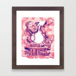 The Potter Framed Art Print