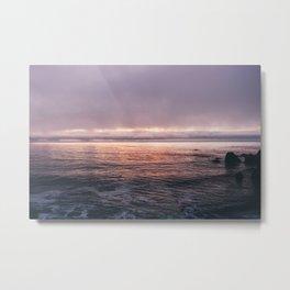 Big Sur Sunset Metal Print