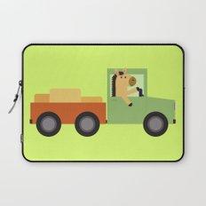 Horse on Truck Laptop Sleeve