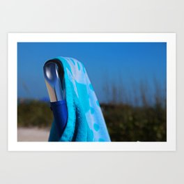 Beach Day- horizontal Art Print
