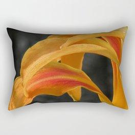 Lily Petal Impression Rectangular Pillow