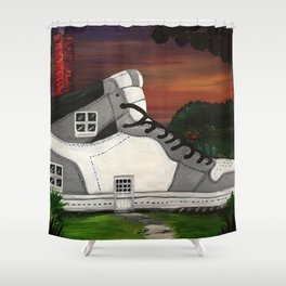 Shoe Value Shower Curtain