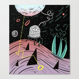 Superboles h4 Canvas Print