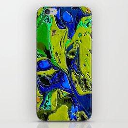 Green Flow iPhone Skin