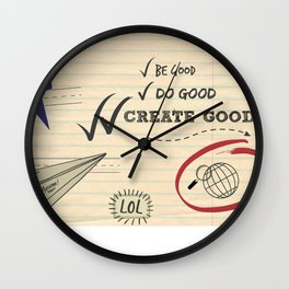 Create Good Wall Clock
