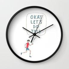 Okay let's do this Wall Clock
