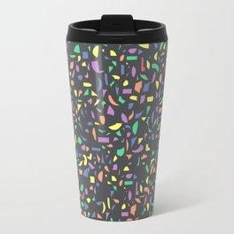 Terrazzo Multicolor Texture Travel Mug