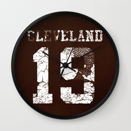 Vintage Cleveland Sports Wall Clock