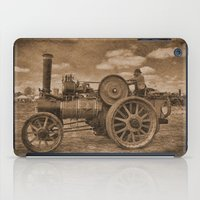 jem iPad Cases featuring Vintage Jem General Purpose Engine by Avril Harris