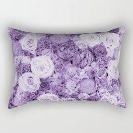 bouquet ver.purple Rectangular Pillow