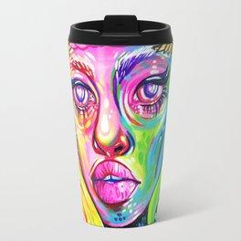 Rainbow Angel Travel Mug