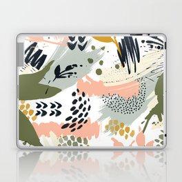 Abstract strokes still life Laptop & iPad Skin