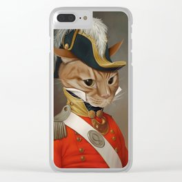 Sir Comet Thelonious, esq Clear iPhone Case