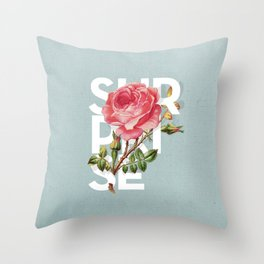 WOW! Flowers #3 Throw Pillow