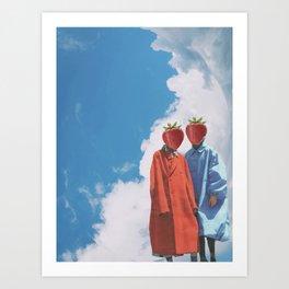 Fashion Fruitward II Art Print