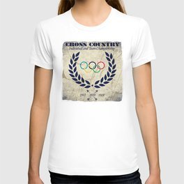 Cross Country - Olympic Vintage T-shirt