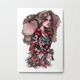 Kendall Metal Print