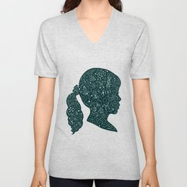 In a Science State of Mind Unisex V-Neck